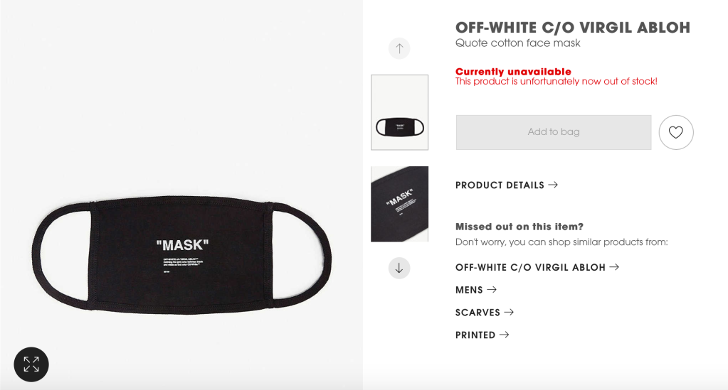 off-white-mascara-mask-selfridges-coronavirus-virgil-abloh